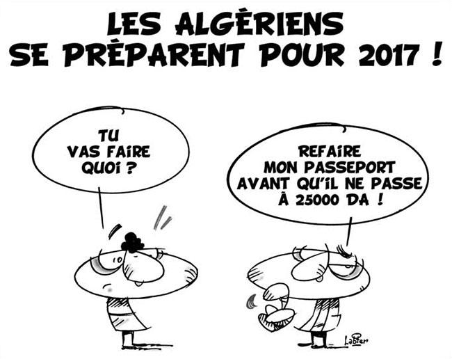 Les Algériens se préparent pour 2017