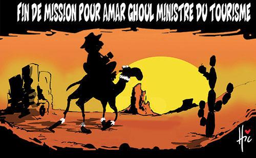Fin de mission pour Amar Ghoul ministre du tourisme