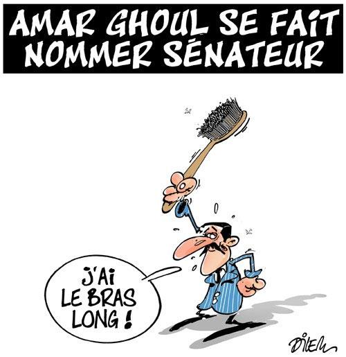 Amar Ghoul se fait nommer sénateur