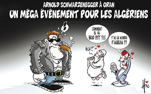 Arnold Schwarzenegger à Oran: Un méga évènement pour les algériens