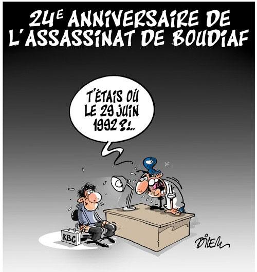 24e anniversaire de l'assassinat de Boudiaf