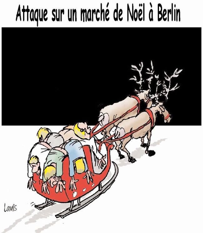 Attaque sur unmarché de noël à Berlin