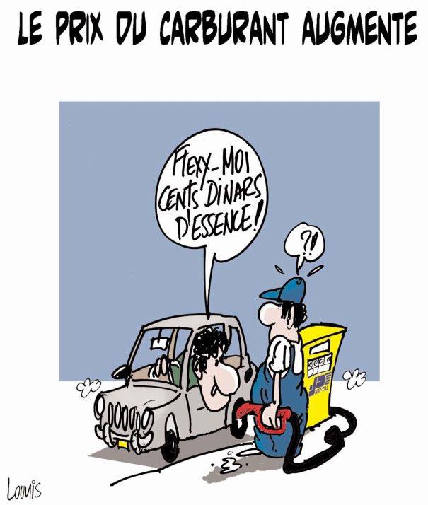 Le prix du carburant augmente