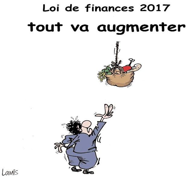 Loi de finances 2017: Tout va augmenter