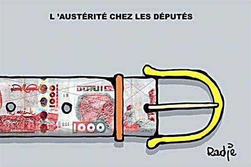 L'austérité chez les députés