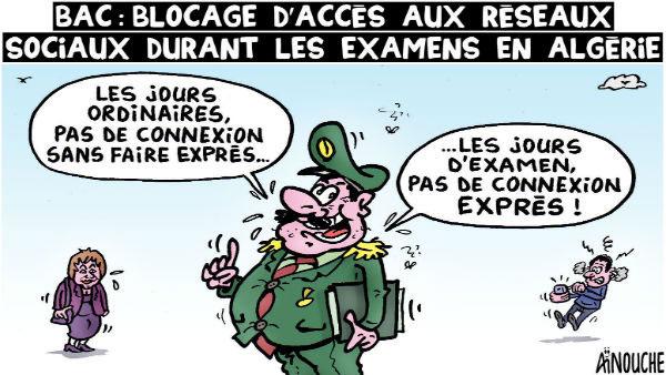 Bac: Blocage d'accès aux réseaux sociaux durant les examens en Algérie