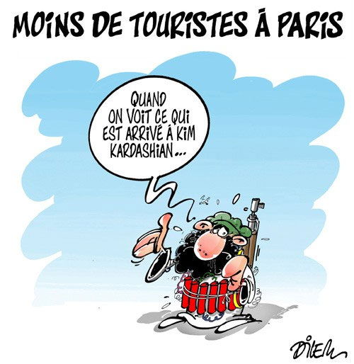 Moins de touristes à Paris