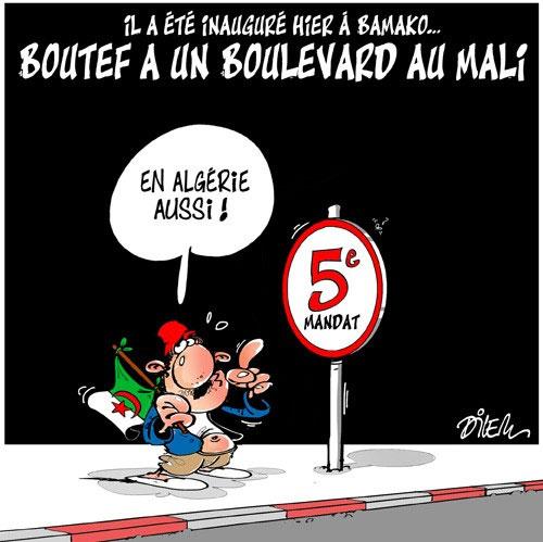 Il a été inauguré hier à Bamako: Boutef a un boulevard au Mali