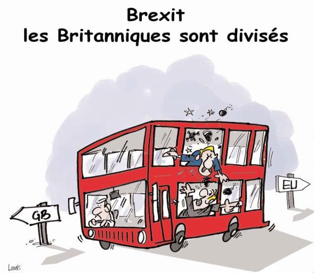 Brexit: Les Britaniques sont divisés