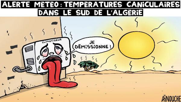 Alerte météo: Températures caniculaires dans le sud de l'Algérie