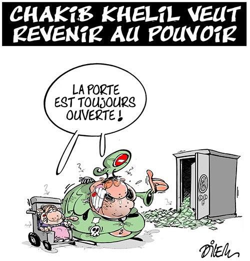 Chakib Khelil veut revenir au pouvoir