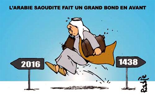 L'Arabie Soudite fait ungrand bond en avant