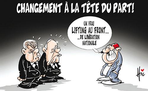 Changement à la tête du parti