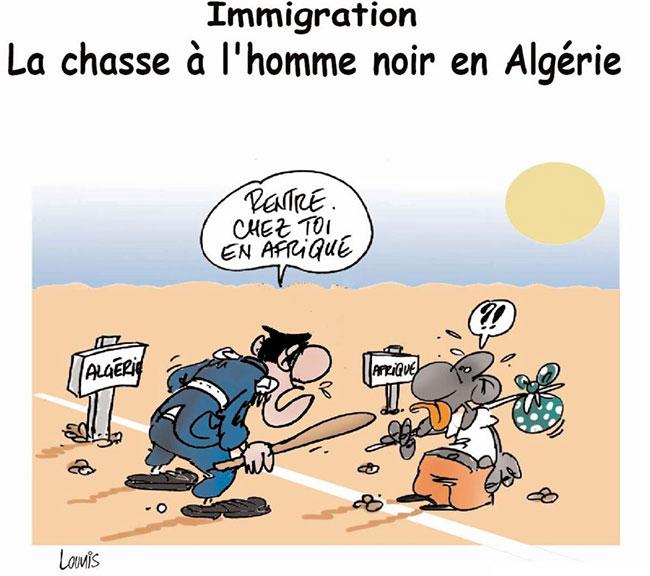 Immigration: La chasse à l'homme noir en Algérie
