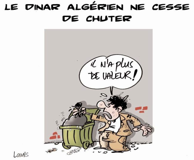 Le dinar algérien ne cesse de chuter
