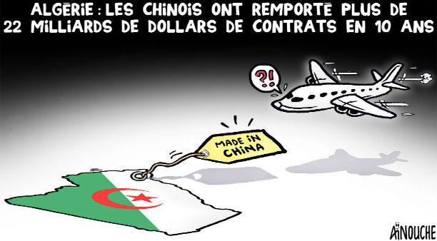 Algérie: Les Chinois ont remporté plus de 22 milliards de dollars de contrats en 10 ans