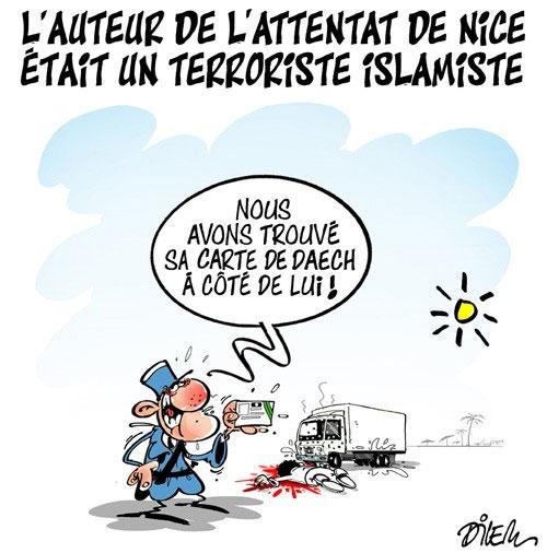 L'auteur de l'attentat de Nice était un terroriste islamiste