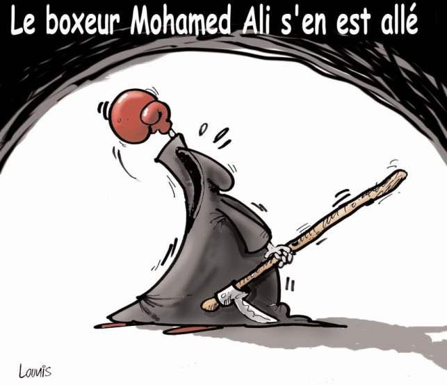 Le boxeur Mohamed Ali s'en est allé
