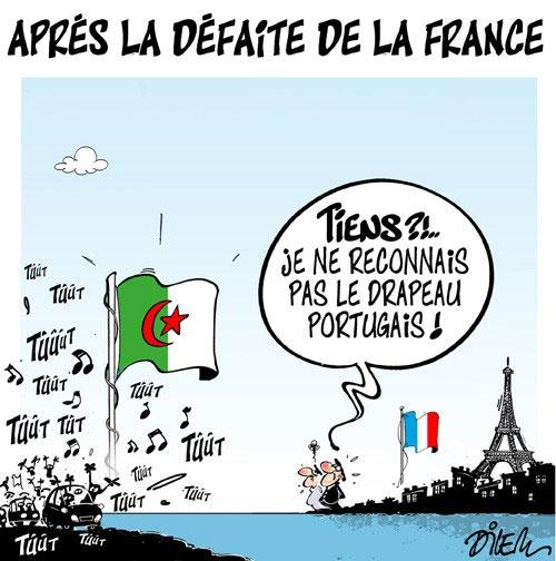 Après la défaite de la France