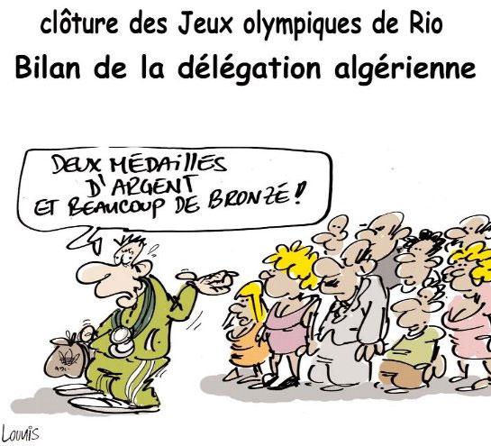 Clôture des jeux olympiques de Rio: Bilan de la délégation algérienne