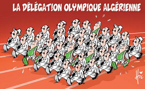 La délégation olympique algérienne
