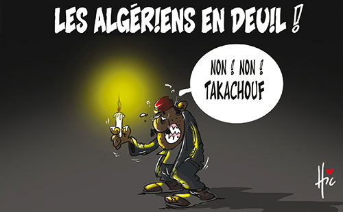 Les Algériens en deuil
