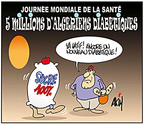 Journée mondiale de la santé: 5 millions d'algériens diabétiques