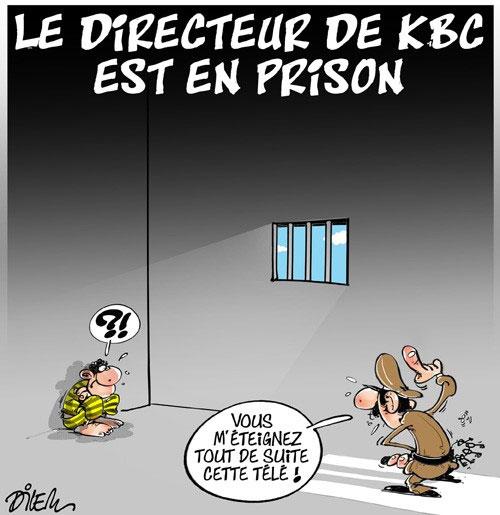 Le directeur de KBC est en prison