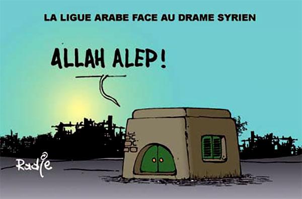 La ligue arabe face au drame syrien