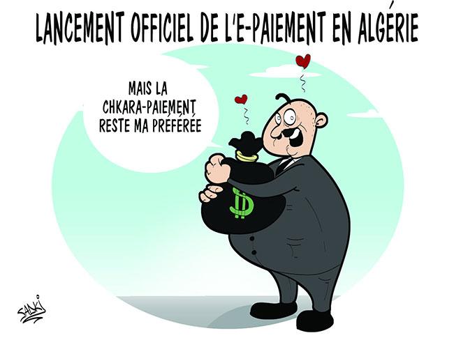 Lancement officiel de l'e-paiement en Algérie