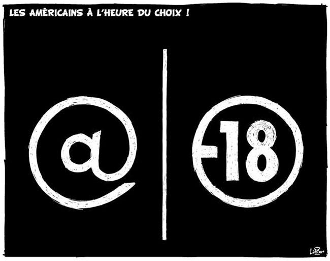 Les Américains à l'heure du choix