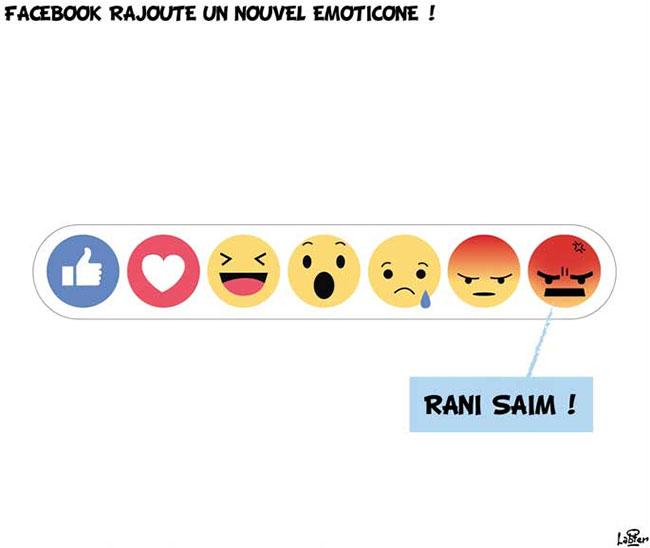 Facebook rajoute un nouvel emoticone