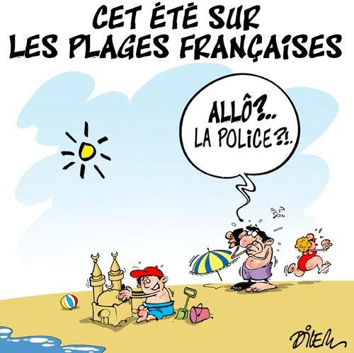 Cet été sur les plages françaises