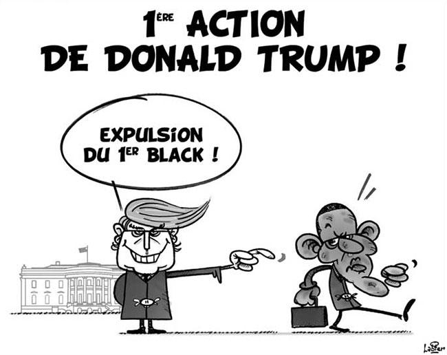 1ere action de Donald Trump