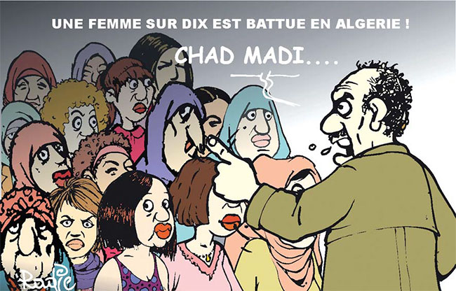 Une femme sur dix est battue en Algérie