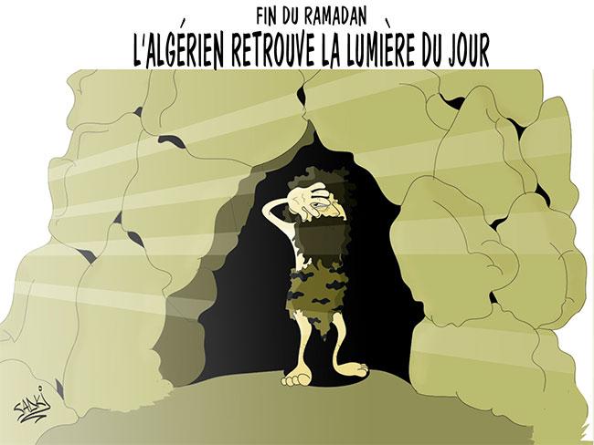 Fin du ramadan: L'algérien retrouve la lumière du jour