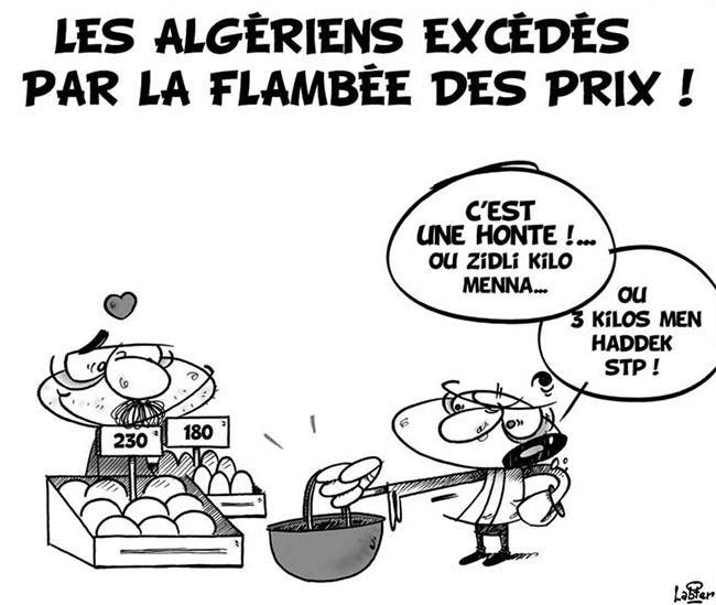 Les Algériens excédés par la flambée des prix