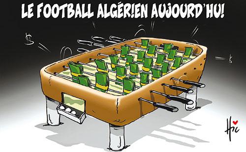 Le football algérien aujourd'hui