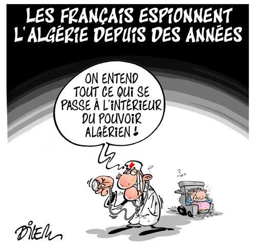 Les Français espionnent l'Algérie depuis des années