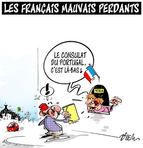 Les Français mauvais perdants