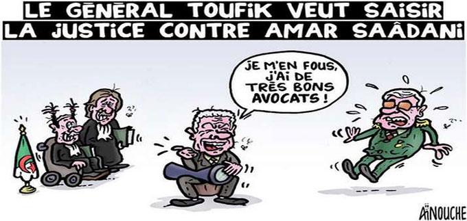 Le général Toufik veut saisir la justice contre Amar Saâdani