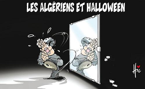 Les Algériens et halloween