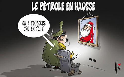 Le pétrole en hausse