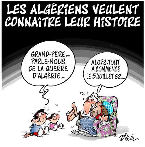 Les Algériens veulent connaitre leur histoire
