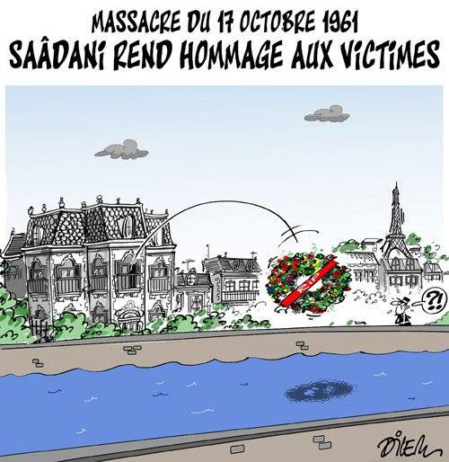 Massacre du 17 octobre 1961: Saâdani rend hommage aux victimes