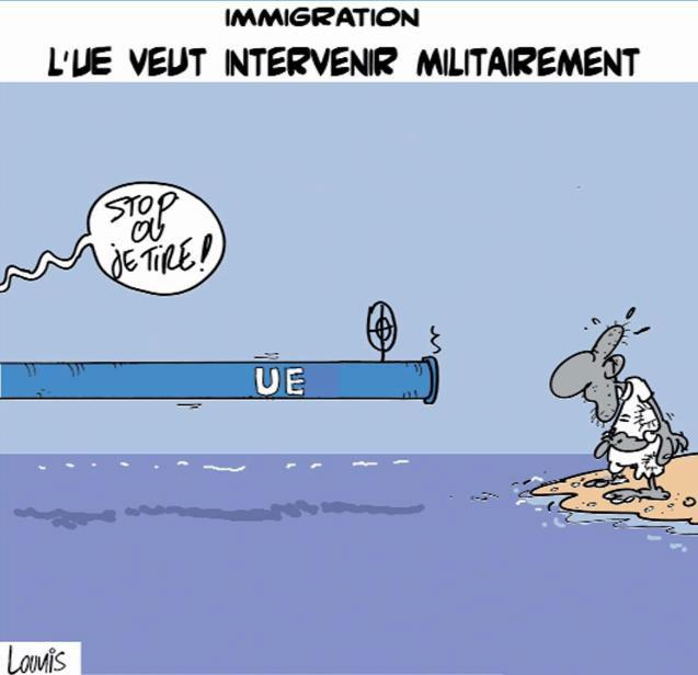 Immigration: L'UE veut intervenir militairement
