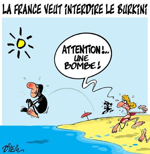 La France veut interdire le burkini