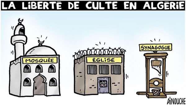 La liberté de culte en Algérie