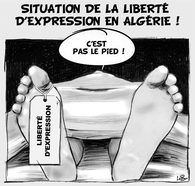 Situation de la liberté d'expression en Algérie