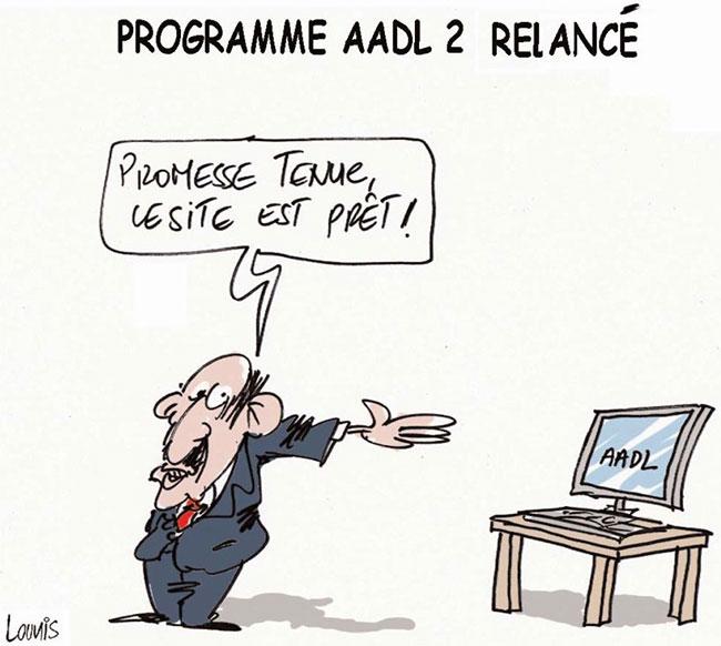 Programme AADL 2 relancé
